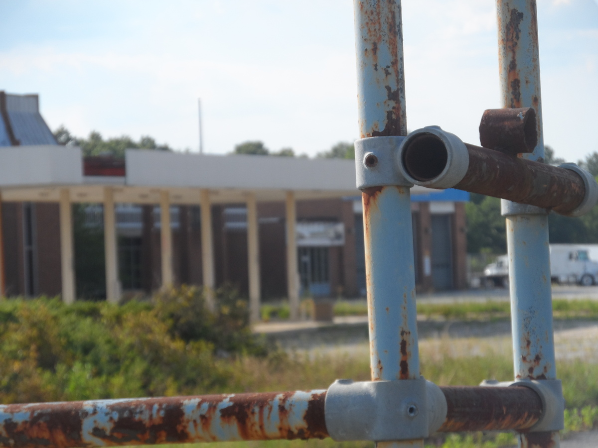abandoned truck stop