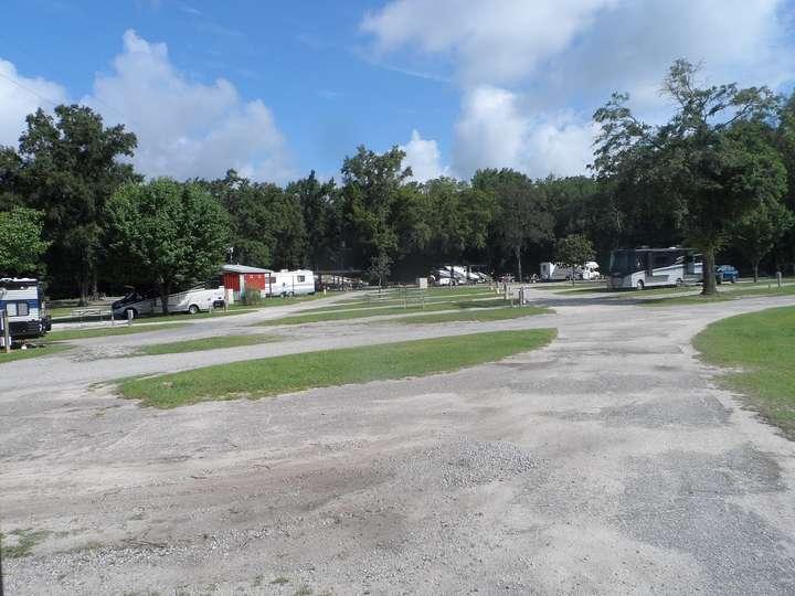 empty rv park